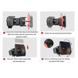 Kase K150 II Houder Fujifilm  8-16mm -2.8_