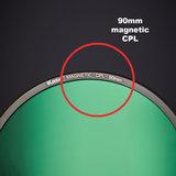 Kase K100-X Holder K9 Magnetisch + CPL_