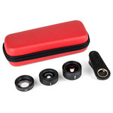 Kase Smartphone lens kit Fashion (3in1) Red_