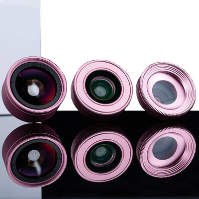 Kase Smartphone Lens kit Fashion (3in1) Pink