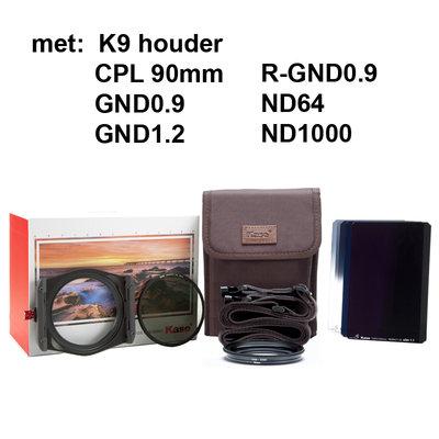 Kase KW100  Slim Master Kit K9