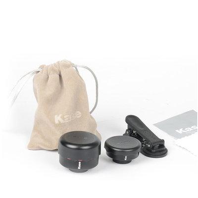 Kase Mobile Lens Kit Macro en Wide Angle