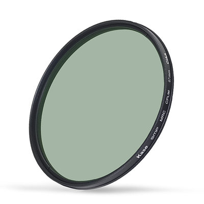 Kase magnetische Circulair polarisatie filter 67mm