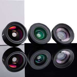 Kase Smartphone Lens kit Fashion(3in1) Black