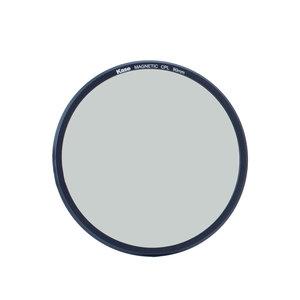 Kase K9  magnetisch Circulair Polarisatie Filter 90 mm