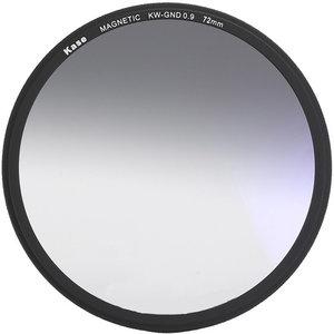 Kase Wolverine magnetisch circulair soft GND0.9 filter 72mm