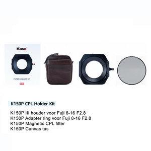 Kase K150P III  Fuji 8-16  CPL kit houder+CPL+tas