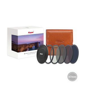 Kase Professional ND kit 67mm CPL+ND64+ND8+ND1000